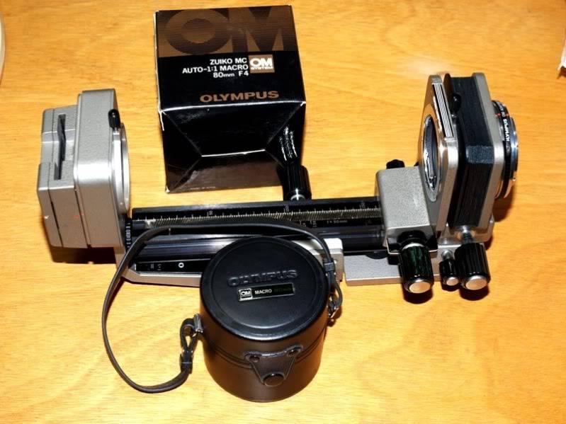Trouvè!!Olympus OM 80mm pour soufflet!!(Ajoute) PC064130