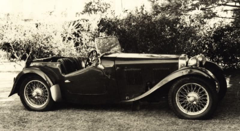 Rally de vielles voitures HRG