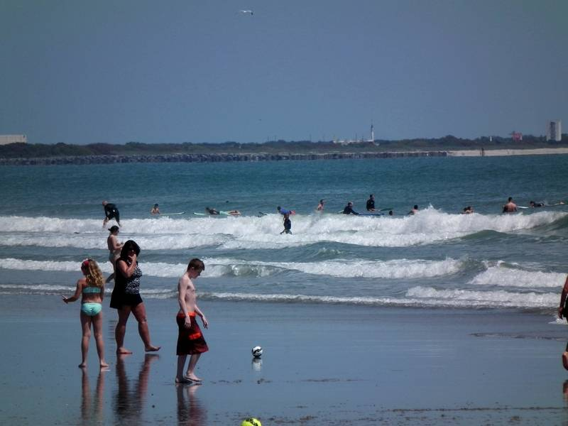 Plage de Cocoa Beach pres de l'Hotel DSCF2789_zps4fumci7b