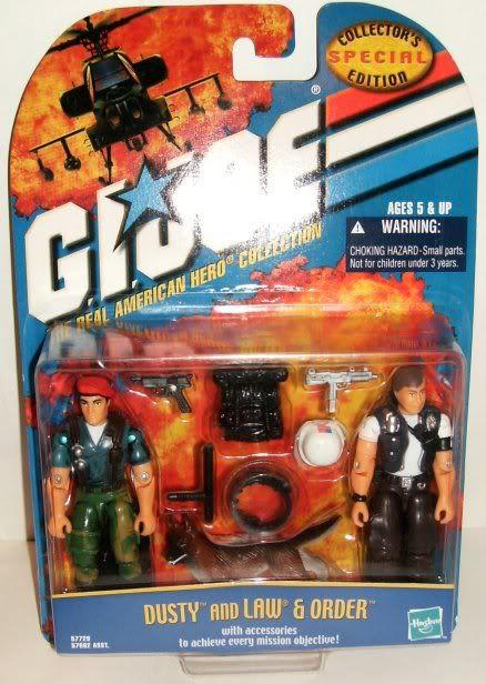 G.I. Joe - ARAHC - Dusty and Law & Order - 2000 00-ARAH-DLO