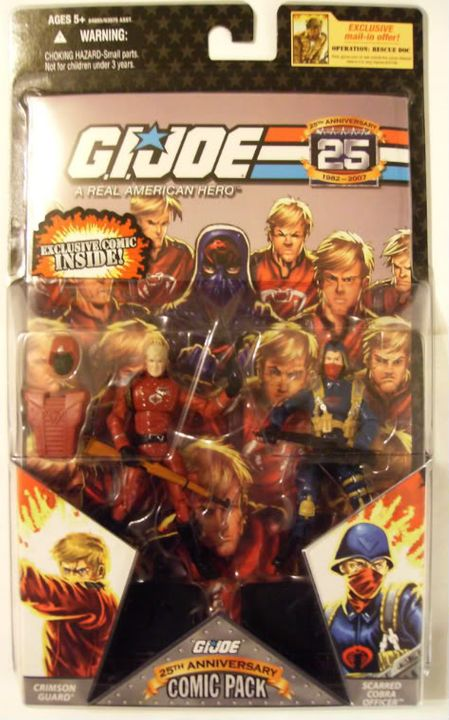Comic Packs - 25th Anniversary 08-CP32-CG-CO