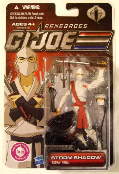 G.I. Joe/Cobra - 30th Anniversary - G.I. Joe Renegades - 2011 11-Ren-SS