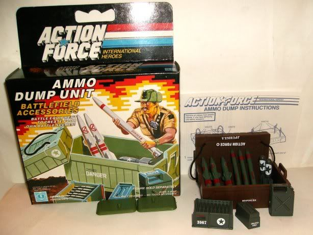 G.I. Joe - Ammo Dump Unit - 1985 85-ad