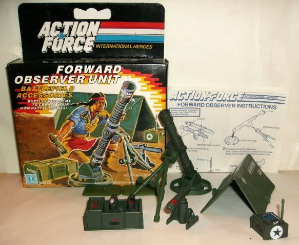 G.I. Joe - Forward Observer Unit - 1985 85-fou