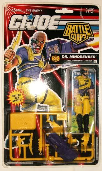 Cobra - Dr. Mindbender - Battle Corps - 1993 92-DMB