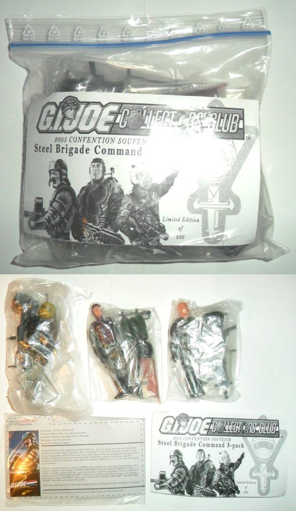 2005 - G.I. Joe Convention - Steel Brigade Command 05-Convention%20SBC