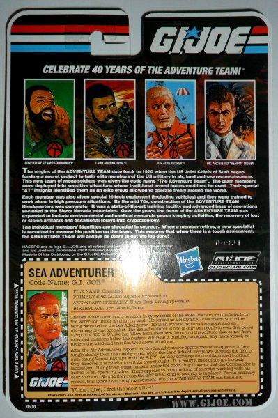 GI Joe Collector's Club Exclusive - Adventure Team - Sea Adventurer - 2011 11-AT-SA4