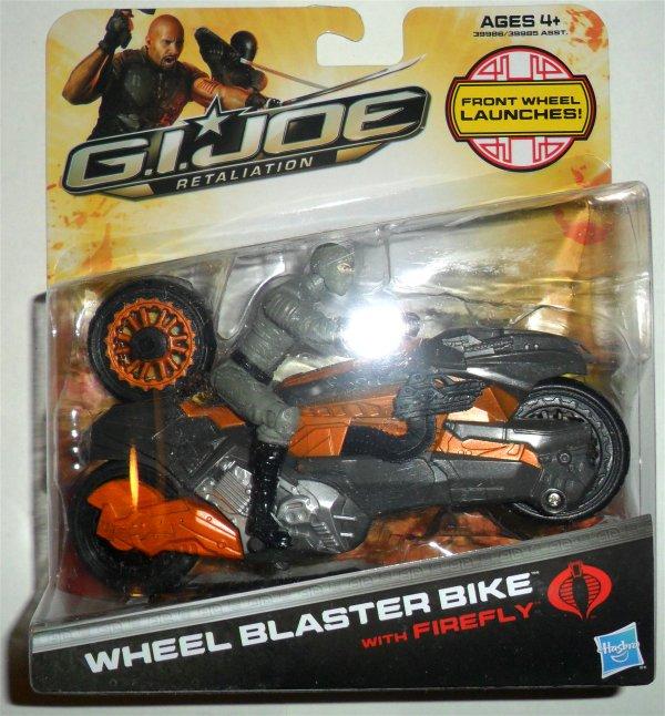 Cobra - Wheel Blaster Bike - GI Joe Retaliation - 2012 12-WBwF
