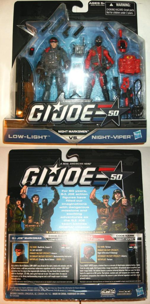 G.I. Joe - 50th Anniversary 14-NightMarksmen-LL-NV