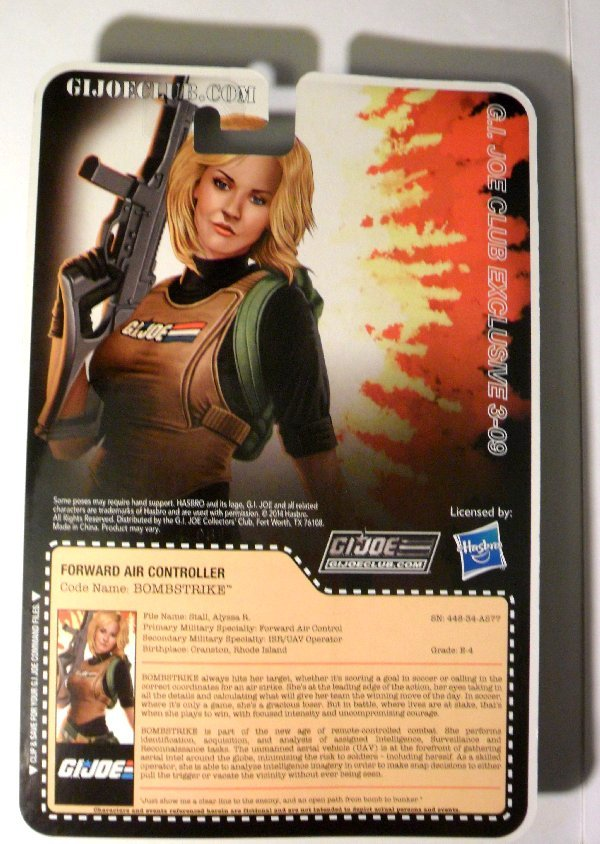 G.I. Joe Collector's Club - Figure Subscription Service 3 - 2014 15-FSS3-BS-b