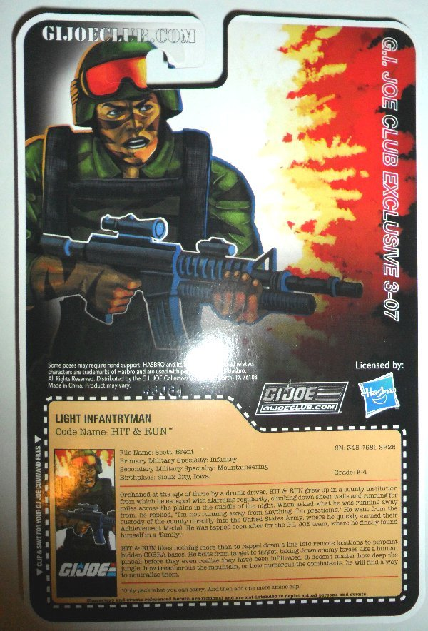 G.I. Joe Collector's Club - Figure Subscription Service 3 - 2014 15-FSS3-HR-B