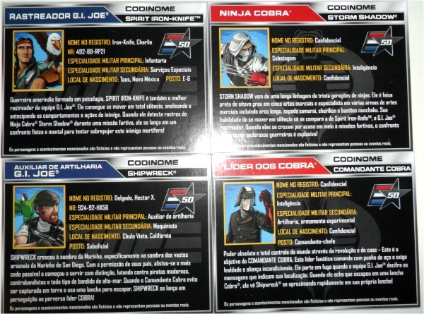 G.I. Joe - 50th Anniversary 15-cards
