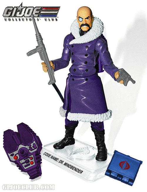 G.I. Joe Collectors' Club 2015 Free Membership Figure - Dr. Mindbender Dr.Mindbender