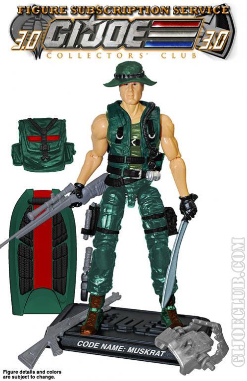 G.I. Joe Collector's Club - Figure Subscription Service 3 - 2014 MR