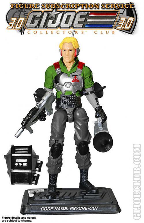 G.I. Joe Collector's Club - Figure Subscription Service 3 - 2014 PO