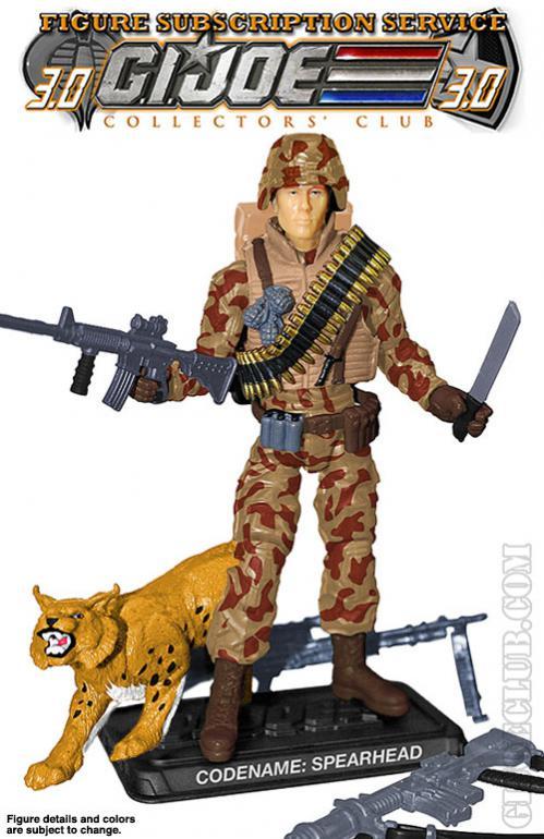 G.I. Joe Collector's Club - Figure Subscription Service 3 - 2014 SM