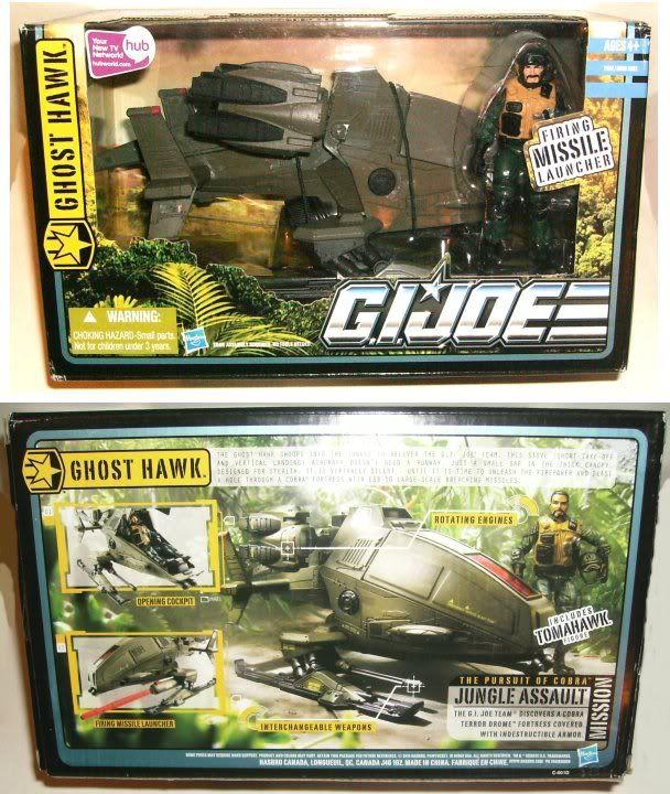 G.I. Joe - Pursuit of Cobra - Ghost Hawk - 2010 POC-GH-10