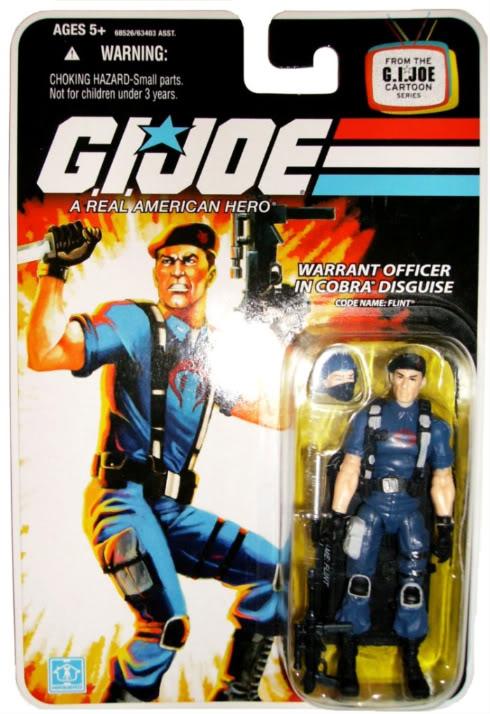 G.I. Joe - Flint - 25th Anniversary - Wave 7 - 2008 Flintcob