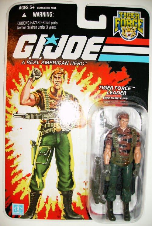 G.I. Joe - Flint (Tiger Force) - 25th Anniversary - Wave 4 - 2008 Flinttf25