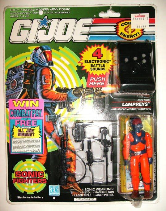 Sonic Fighters - 1990 Lampreysf