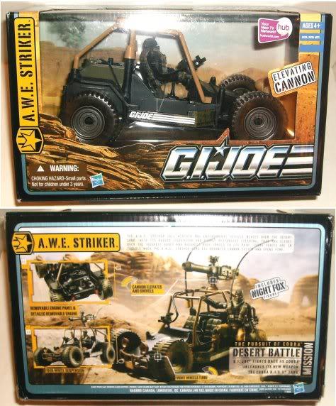 GIJoe - A.W.E. Striker - Pursuit of Cobra - 2010 Poc-awes