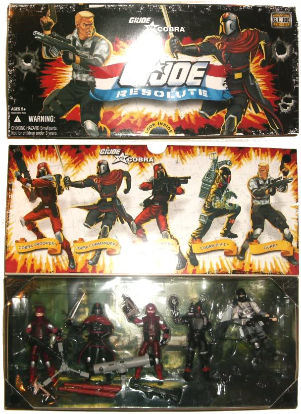 G.I. Joe Resolute - 5 Pack - 2010 Reso5