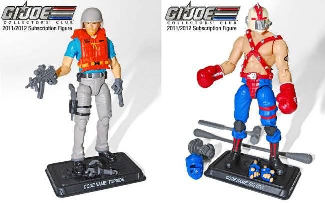 G.I. Joe Collector's Club - Figure Subscription Service 1 - 2013 Topside-bigboa