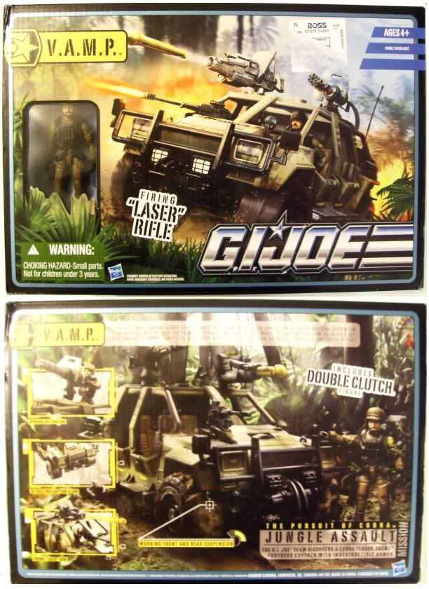 G.I. Joe - VAMP 4X4 - Pursuit of Cobra - 2010 Vamppc