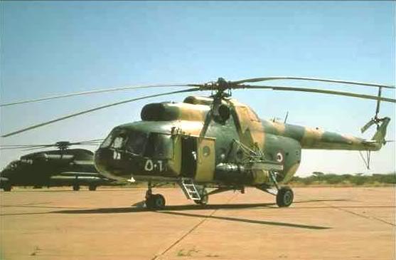 Armée Soudanaise / Sudanese Armed Forces ( SAF ) Mi-13