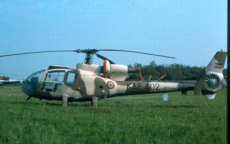 Armée kenyane/Kenyan Armed Forces SA-3