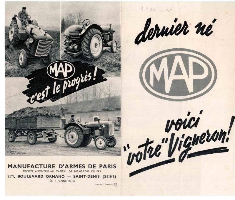 La Manufacture d'Armes de Paris (MAP) : Histoire des matériels fabriqués Eingescanntmit190220101-1