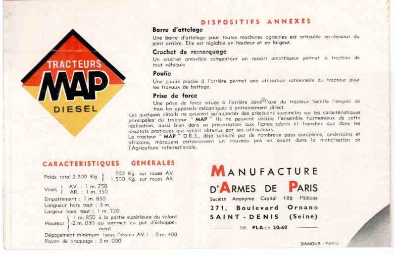 La Manufacture d'Armes de Paris (MAP) : Histoire des matériels fabriqués Eingescanntmit1902201014