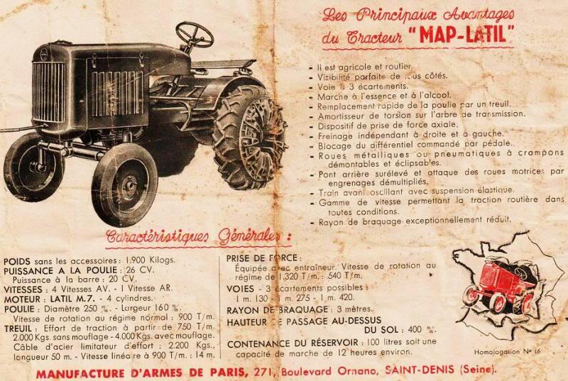 La Manufacture d'Armes de Paris (MAP) : Histoire des matériels fabriqués Eingescanntmit210220101b