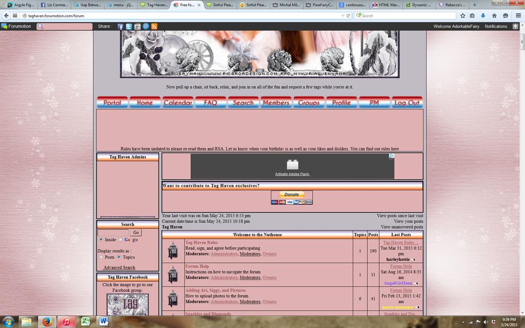 Gap Between Scrolling Images in Personal Widget THForum2