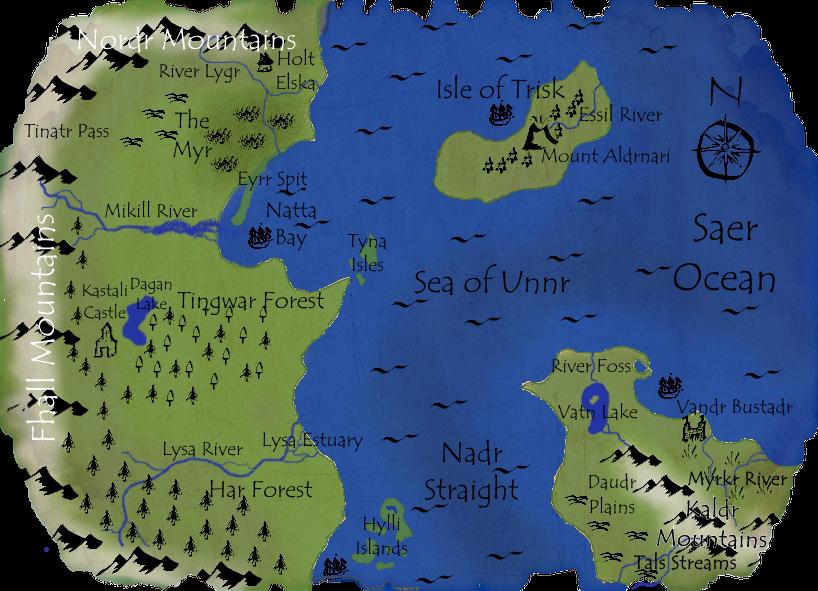 Map of Einnjoro: The Known World Almostfinishedeinnjoromap_zpsba4836bf