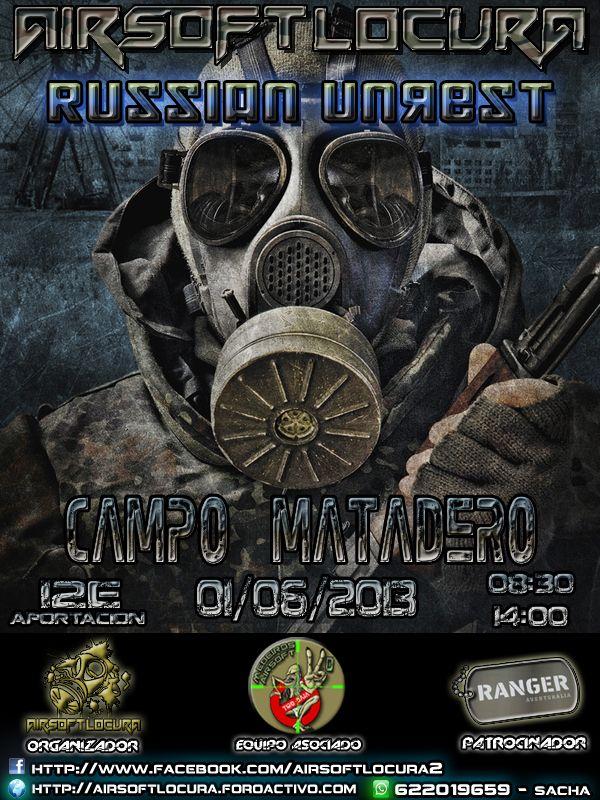 RUSSIAN UNREST  01/06/13 MATADERO SABADO MAÑANA 20130601_zpsb229f009