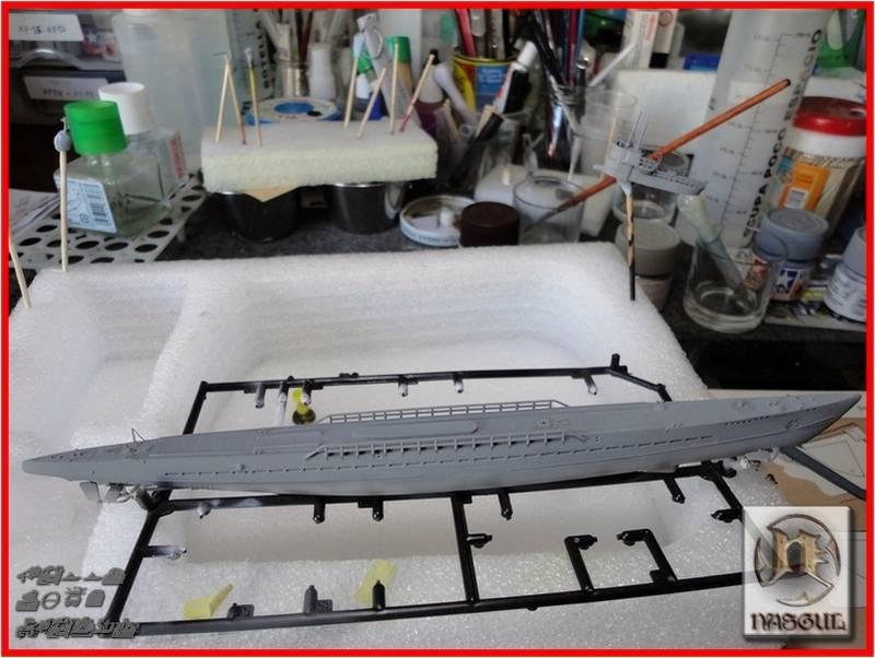 U-Boot Type IX-C 1/350 Hoby Boos  TERMINADO F19_zpse7529b12