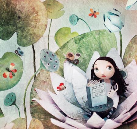 Chloé Rémiat - Illustratrice con la carta 418435_301332776586977_126699960716927_759970_1930789991_n_zps3757282d