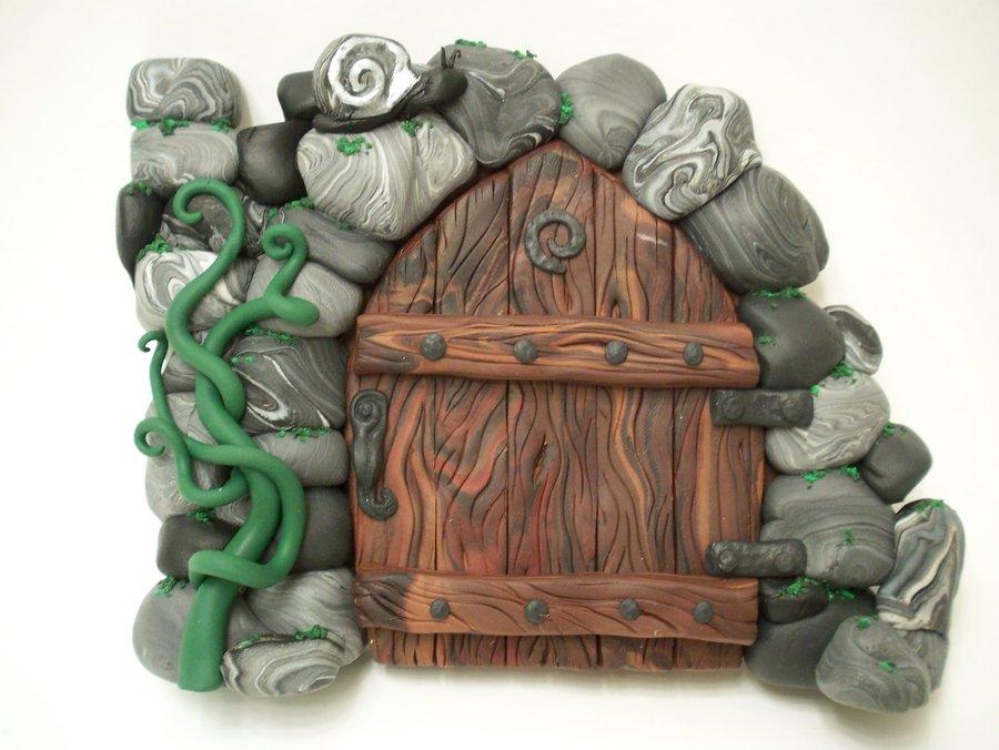 Porta delle fate da Tutorial effetto legno Portadellefate_zps718231cb