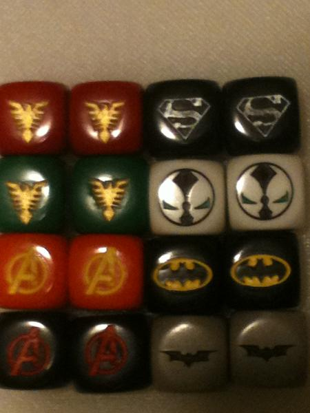 Sharing images of dice Dicesupermanbatmanavengers_zps6b12f2ba