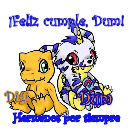 ¡¡Felicidades Dumdom!! :DD XD