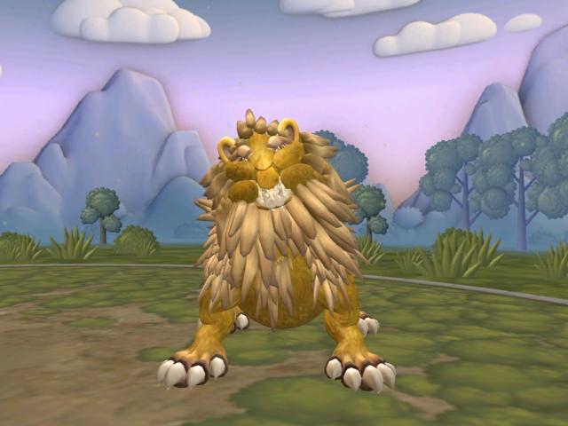 León realista [pedido de Sporenoexperto del taller Crelensalt