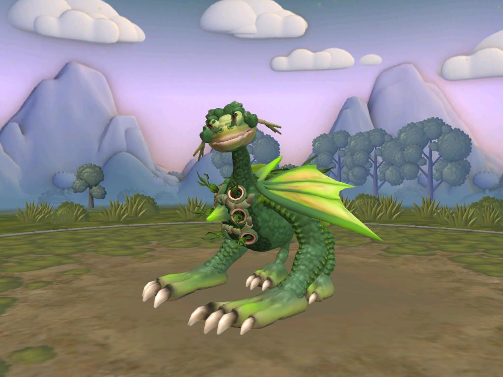 Vermadu, dragón del bosque Crevermadu