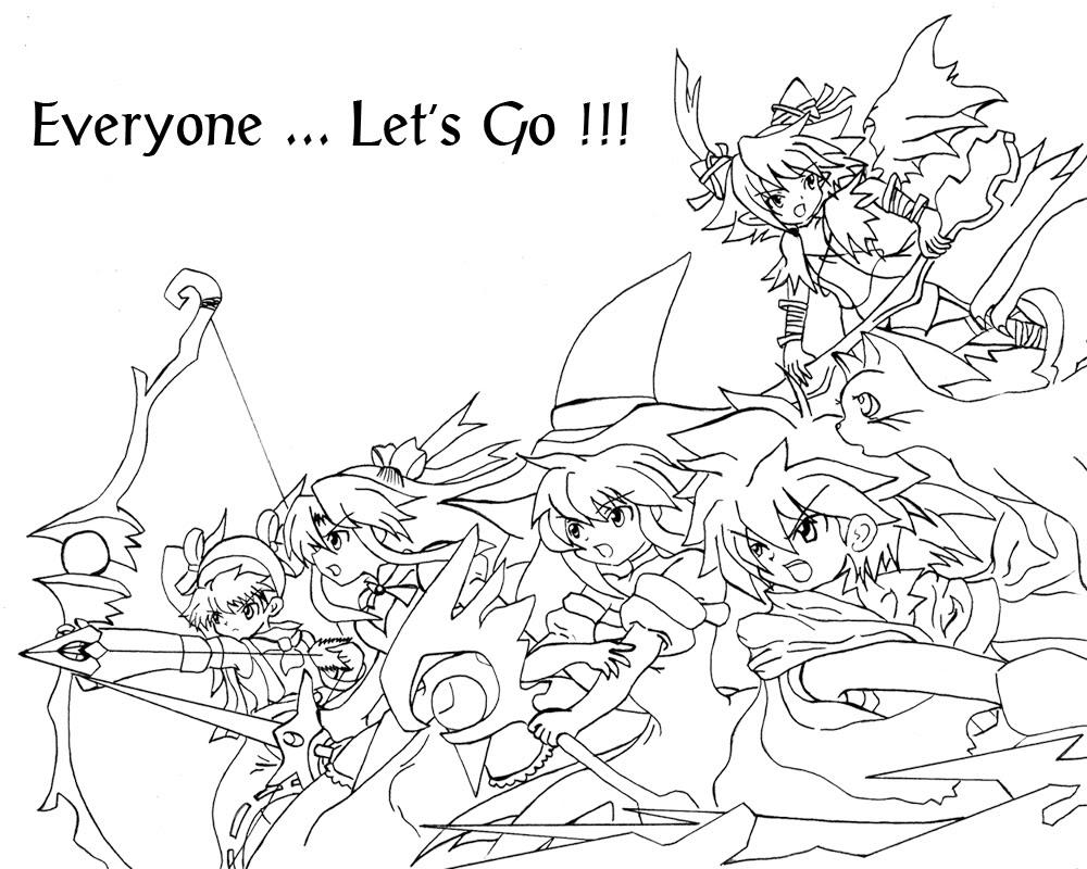 [ FANART ]  Fanart for Anime , Manga , Dojinshi , Games ForRiviera
