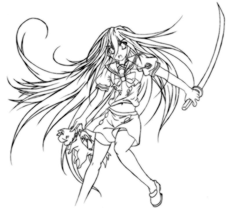 [ FANART ]  Fanart for Anime , Manga , Dojinshi , Games HBDSolarShanaver