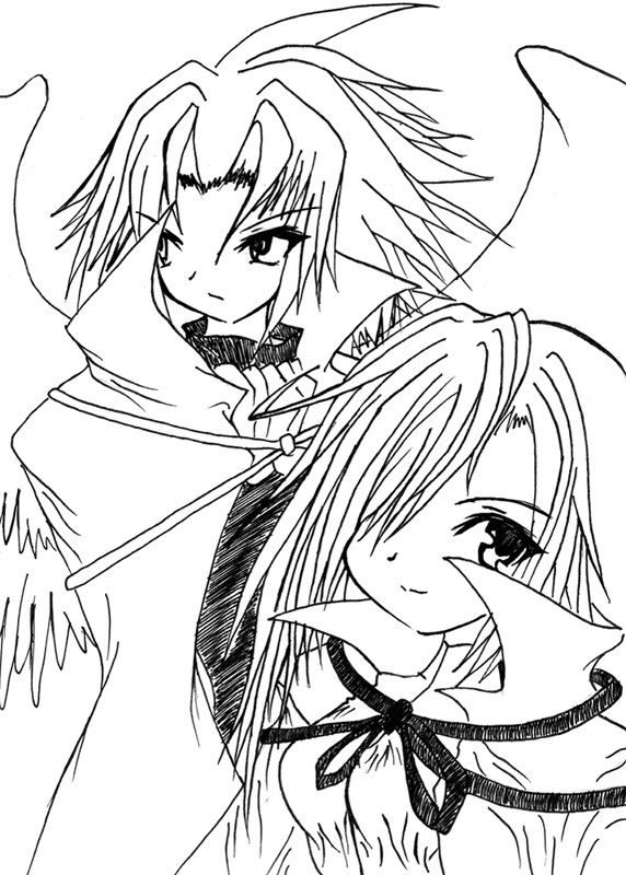 [ FANART ]  Fanart for Anime , Manga , Dojinshi , Games LedahXMalice