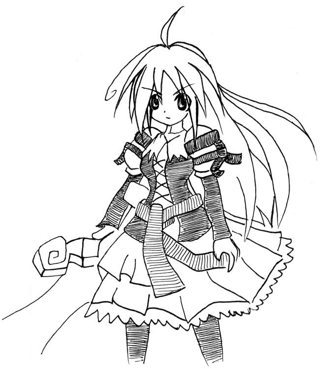 [ FANART ]  Fanart for Anime , Manga , Dojinshi , Games Yggdra