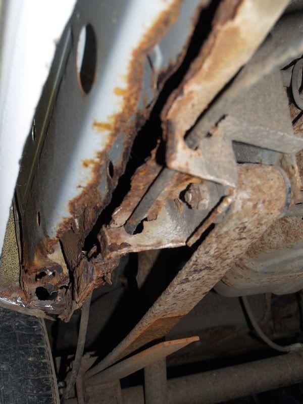 project rust bucket - mk1 caddy P9180738