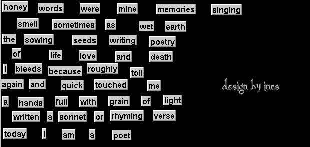 Vizualna poezija - Ita-Ines VP-ines