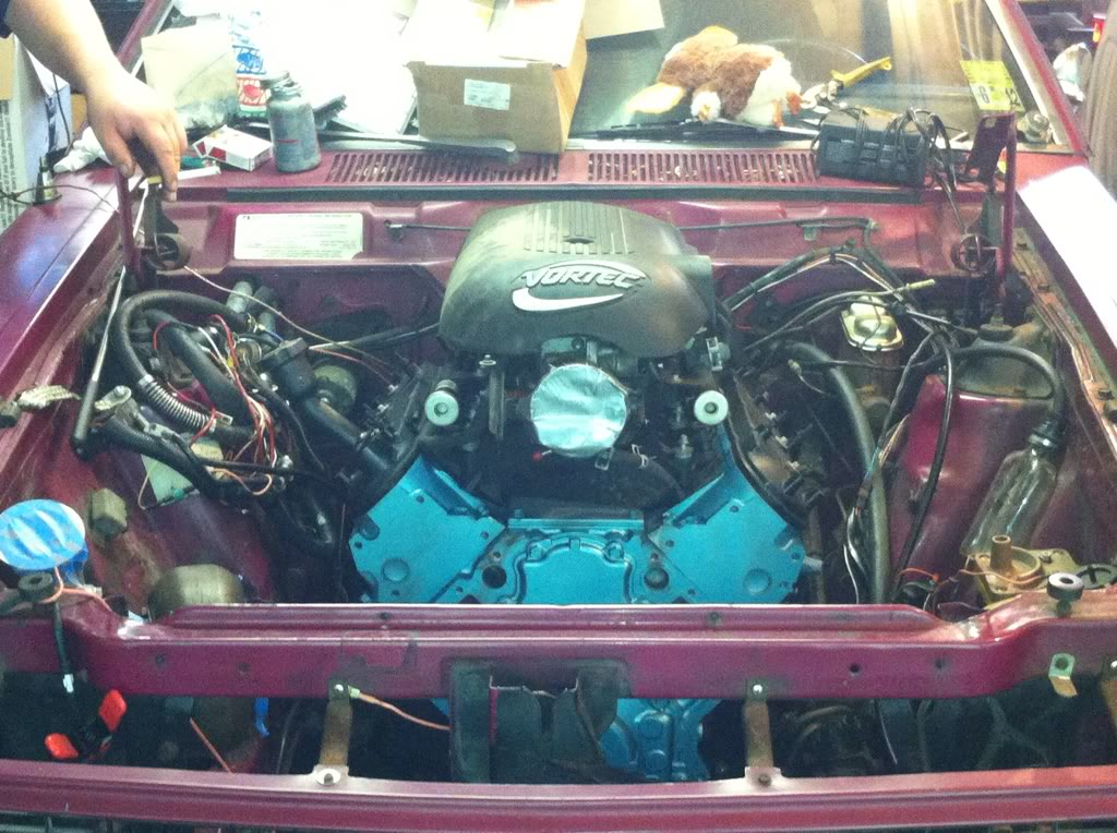 My friends 73 AMC Gremlin-X project - Turbocharged GM LS 7a96a798